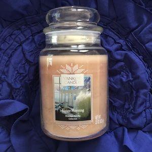 Yankee Candle Alpine Morning Large Jar
